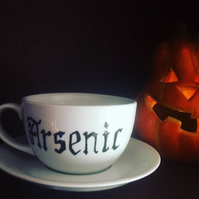 Witch's Poison Teacup and Saucer, Arsenic