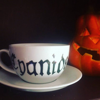 Witch's Poison Teacup and Saucer, Cyanide