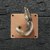 Bronze Chinese Coat Hook 1