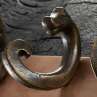 Bronze Chinese Coat Hook 3