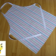 Handmade Adult Apron in Cath Country Check Woven Fabric