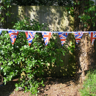 4m Handmade UNION JACK PVC Bunting PVC BUNTING Street Party Wedding