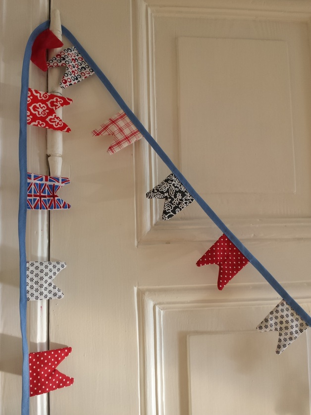 """Britain Love"" Mini Bunting"