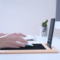 Eco-Friendly Mouse Pad Mat, Phone & Tablet Stand - Anti-Slip & Wrist Comfortable