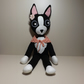 Boston Terrier Plush Doll