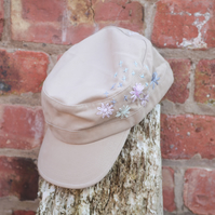 Embroidered Military cap