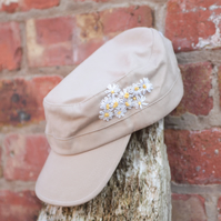 Embroidered Military style cap