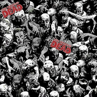 Fat Quarter The Walking Dead Zombies Cotton Quilting Fabric Springs