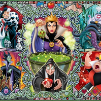 2-Disney-Villains-themed-cabochons-Evil queen,Ursula, Maleficent,Cruella etc.