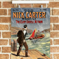 Nick Carter Cliff Castle Detective Vintage Poster - A4 wall art print