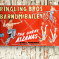 'The Great Alzanas' Vintage Circus Poster