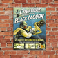 Creature From The Black Lagoon Vintage A4 Poster or A5 Greetings Card
