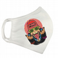 Printed Cartoon Funk Monkey Washable Facemask in White