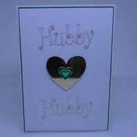 LGBT Birthday card Hubby to Hubby.
