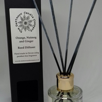 Orange Nutmeg and Ginger Reed Diffuser