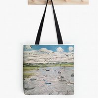 Beautiful Tote Bag Featuring A Design Based On The Painting 'Calm, Peace...'