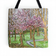 Beautiful Tote Bag Featuring A Design Based On The Painting 'So Fragile'