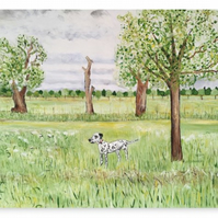 Canvas Print Wall Art Taken From The Original Oil Painting 'Midsummer...'