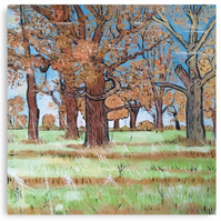 Canvas Print Wall Art Taken From The Original Oil Painting 'A Beautiful New Day'