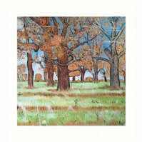 Art Print Taken From The Original Oil Painting 'A Beautiful New Day'