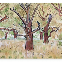 Canvas Print Wall Art Taken From The Original Oil Painting 'SeedTime And Harvest