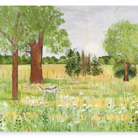 Canvas Print Wall Art Taken From The Original Oil Painting 'Midsummer Daydream'