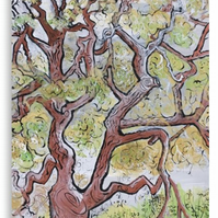 Canvas Print Wall Art Taken From The Original Oil Painting 'Spreading Branches'