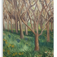 Canvas Print Taken From The Original Oil Painting 'The Onset Of Spring'