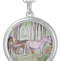 Beautiful Pendant featuring the design 'Mother Love'