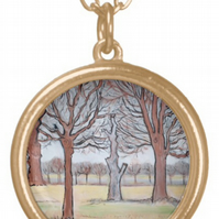 Beautiful Pendant featuring the design 'Midwinter'