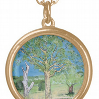 Beautiful Pendant featuring the design 'Parched Earth And Heatwave'