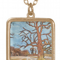 Beautiful Pendant featuring the design 'Flourishing! Springtime Is Near'
