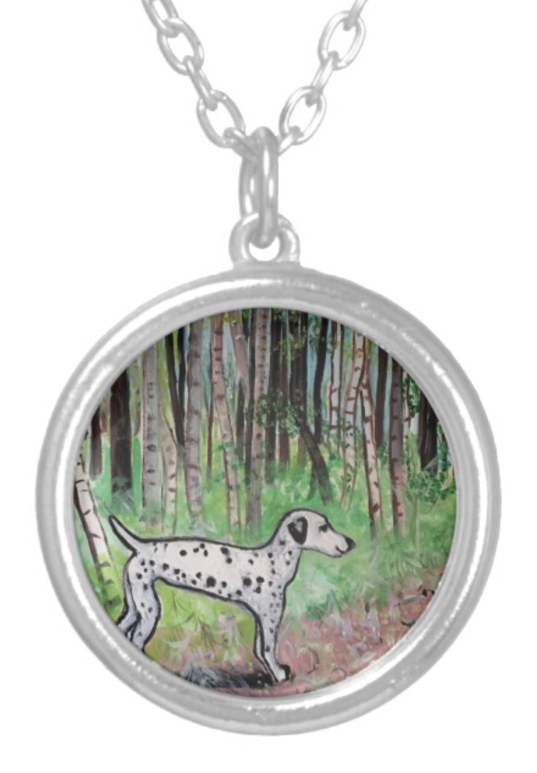 Beautiful Pendant featuring the design 'Pathway Through The Woods'
