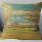 Throw Cushion Featuring The Painting 'Beautiful Transformations'