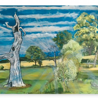 Canvas Print Taken From The Original Painting 'And Then I Saw The Light'