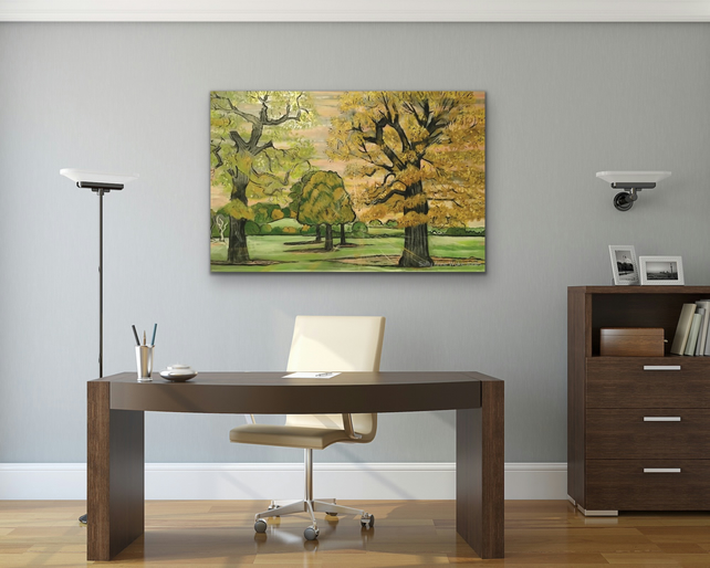 Original Large Canvas Print By Sally Anne Wake Jones