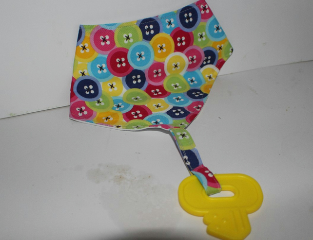 Button Bandana Bib