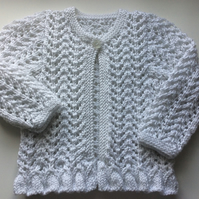 Baby girl's cardigan 6-12 months