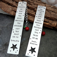 Teacher bookmark, end of year gift, teacher Christmas, , playgroup gift,
