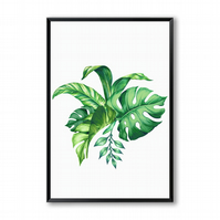 Tropical Leaves - Canvas Print