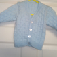 Hand knitted babies cardigan
