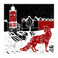 Urban Fox Christmas Card (2)