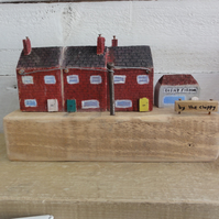 Little wooden terrace houses - Original handcrafted from reclaimed materials