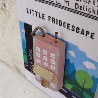 Little hotel - fridge magnet