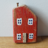 Little red house 2 - fridge magnet