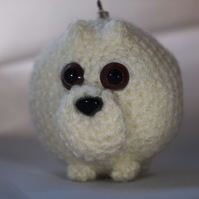 Crochet Polar Bear Keyring