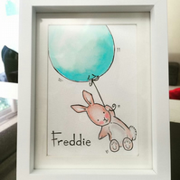 Personalised hand painted art