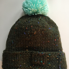 Knitted hat, Handmade hat, wool hat