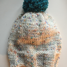 Wool hat, Handmade hat, knitted hat