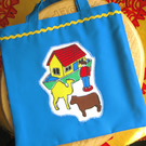 Child's Noah's Ark Tote Bag, Gift for Boy or Girl